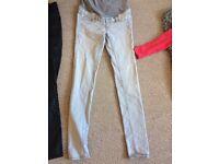 Size 8 maternity jeans