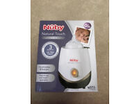 Nuby natural touch bottle and food warmer