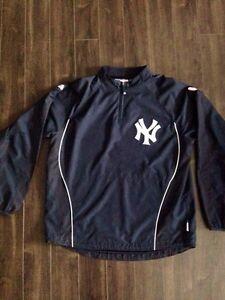 Men's NY Yankees warm-up jacket Gatineau Ottawa / Gatineau Area image 1