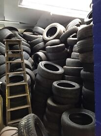 Tyres free to take