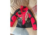 Motocross kids fully armoured quad motorbike jacket