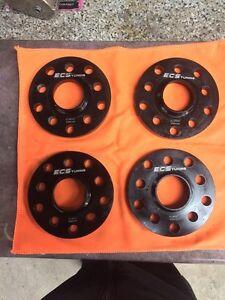 4 spacer ESC tuning 15mm 5x100 et 5x120