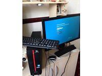 Packard Bell computer BenQ monitor