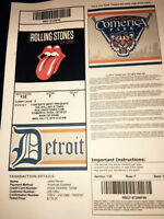 Rolling Stones - Comerica Park - July 8 -Lower Level Aisle(4)