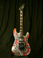 1987 Charvel Model 4 Octopus - Luthier and Artist Creation