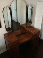 Waterfall Dressing Table