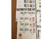 28 first day issue stamp sets