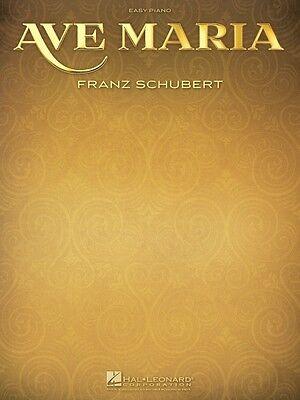 Ave Maria Sheet Music Easy Piano NEW Franz Schubert 000110051 ()