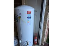 Gledhill unvented hot water cylinder