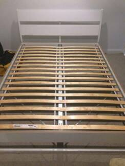Queen-sized IKEA Trysil bedframe in Good Condition