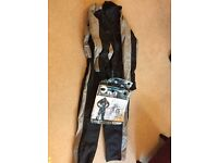 All in one bike suit size large