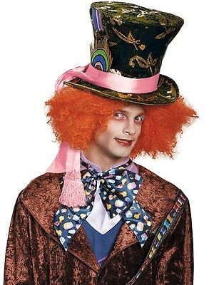 Disguise Alice Through the Looking Glass Mad Hatter Hat with Foil Acccents NEW](The Mad Hatter Hat)