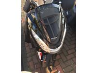 HONDA PCX 125.RUN ONLY 4000 MILES..66 PLATE. VERY GOOD CONDITION WITH HEATING AND ALL PROTECTIONS