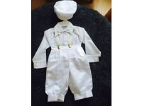 Baby boys Christening suit bnwt
