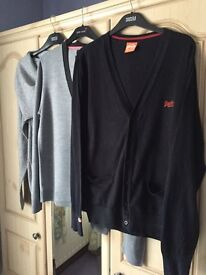 3 Cardigans/Jumpers - SUPERDRY & River Island