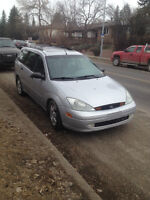 2002 Ford Focus ztw Wagon.need gone asap