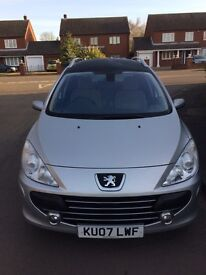 PEUGEOT 307 SW SE 1.6HDI 55MPG FSH CAM BELT AT 35000 MILES ONLY DONE 46000 MILES!!!!!