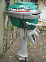 VINTAGE SCOTT ATWATER OUTBOARD MOTOR