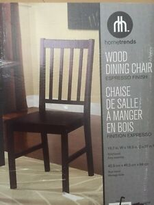 Brand new set of two ladder dining chairs Kitchener / Waterloo Kitchener Area image 3