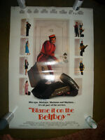 1992 DUDLEY MOORE BLAME BELLBOY COMEDY DB MOVIE THEATRE POSTER