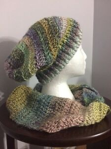 Various crocheted hats, scarves, headbands, cowls Kitchener / Waterloo Kitchener Area image 1