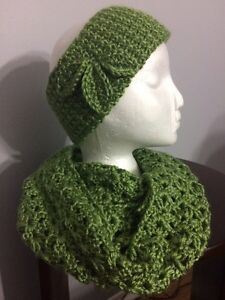 Various crocheted hats, scarves, headbands, cowls Kitchener / Waterloo Kitchener Area image 2