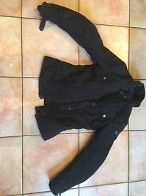 Lady's motorcycle jacket