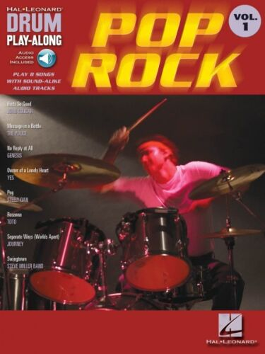 Pop Rock Drum Play-Along Book and Audio NEW 000699742