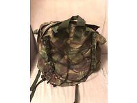 Genuine British Army Engineers DPM Turtle Back 50L PLCE Bergen Rucksack