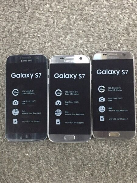 Samsung Galaxay s7 brand new boxed LIMITED OFFER