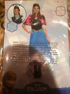 Princess Anna from frozen womens costume