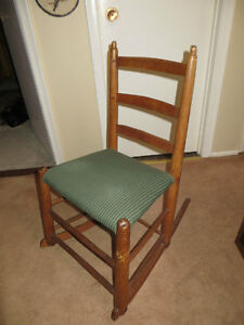 Antique Rocking Chair ~ early 1800's