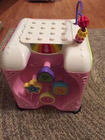 Baby girls activity cube