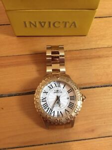 Invicata Mens Chronograph Stainless Steal Gold Watch  Oakville / Halton Region Toronto (GTA) image 2