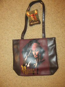 Purse Brand New Pirates of the Caribbean  with Jack Sparrow