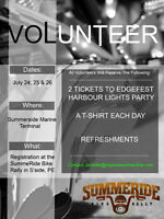 VOLUNTEER at SummeRide!