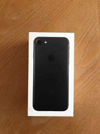 iPhone 7 Black 256GB (O2) - includes ZAGG screen protector already applied