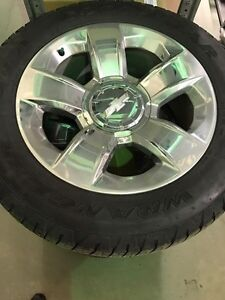 """20"""" Chevy Wheels & Tires"""