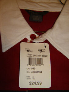 """BRAND NEW WITH TAGS MENS LARGE """"MIND GLOBAL"""" GOLF SHIRT 3 COLOUR London Ontario image 2"""