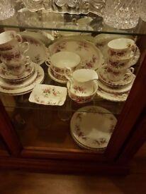 Royal Albert china set 62 pieces