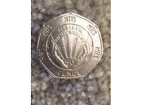 NHS 50p piece