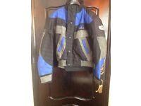 Motorbike fabric jaket