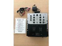Numark DM1050 2 channel DJ mixer