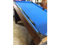 Pool Table, Table Football and other games