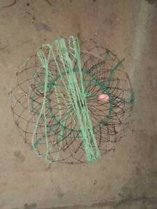 CRAB NET WITH ROPE AND FLOAT Para Hills Salisbury Area Preview