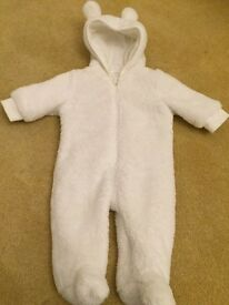 Snowsuit to fit birth to 3 months