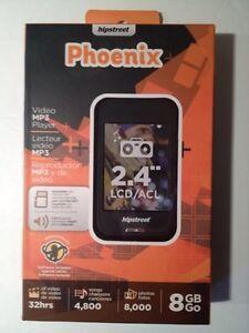 Hipstreet Phoenix 8GB Video MP3 Player Brand New Sealed BNIB
