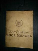 Shop manual Cadillac