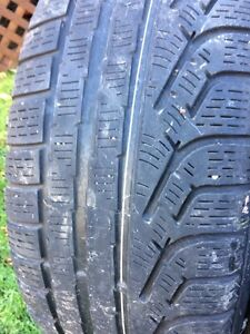 BMW Winter tires and rims 205 55 R16 West Island Greater Montréal image 4