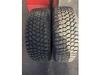 295/55/15 winter tyres